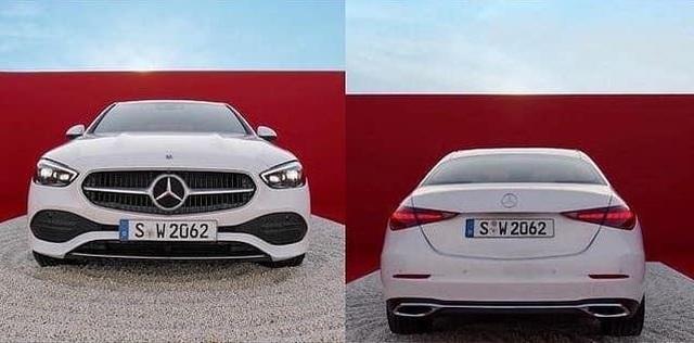 Mercedes-Benz C-Class 2022 lộ diện trước giờ G - 2
