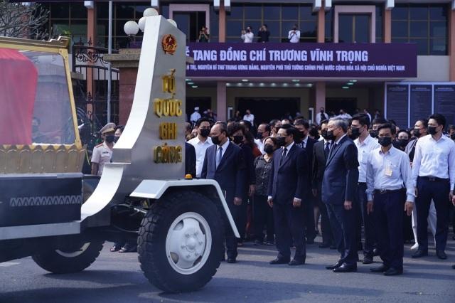 Lễ truy điệu và an táng nguyên Phó Thủ tướng Trương Vĩnh Trọng - 7