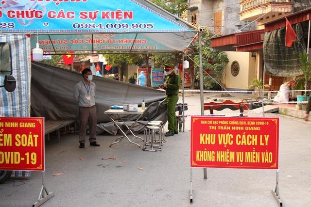 Kết thúc thời gian cách ly y tế các khu dân cư huyện Nam sách và Ninh Giang - 1