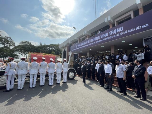 Lễ truy điệu và an táng nguyên Phó Thủ tướng Trương Vĩnh Trọng - 6