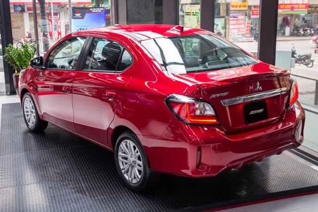 Mitsubishi Attrage thêm bản mới giá 485 triệu, bổ sung công nghệ an toàn - 3