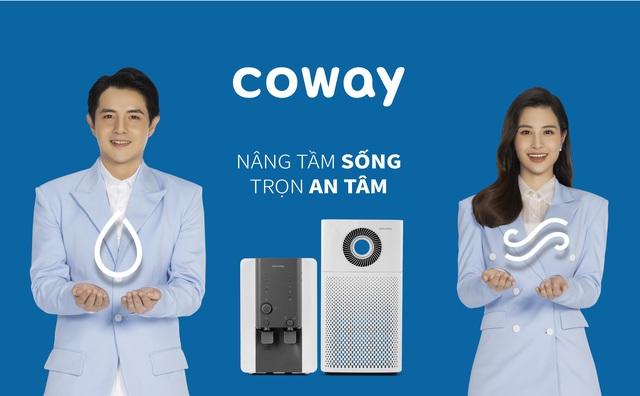 Đông Nhi, Ông Cao Thắng trở thành đại sứ thương hiệu Coway Vina - 1
