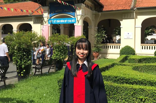 Nữ sinh viên Việt Nam đầu tiên giành học bổng 100% từ Đại học La Trobe Úc - 1