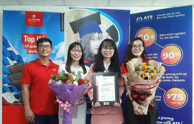Nữ sinh viên Việt Nam đầu tiên giành học bổng 100% từ Đại học La Trobe Úc - 3