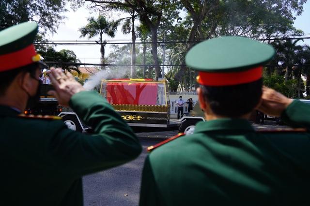 Lễ truy điệu và an táng nguyên Phó Thủ tướng Trương Vĩnh Trọng - 11