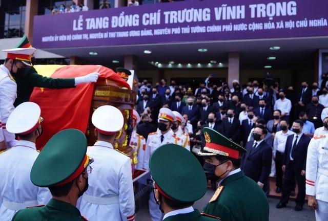 Lễ truy điệu và an táng nguyên Phó Thủ tướng Trương Vĩnh Trọng - 8