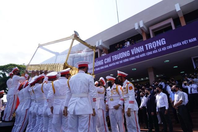 Lễ truy điệu và an táng nguyên Phó Thủ tướng Trương Vĩnh Trọng - 9