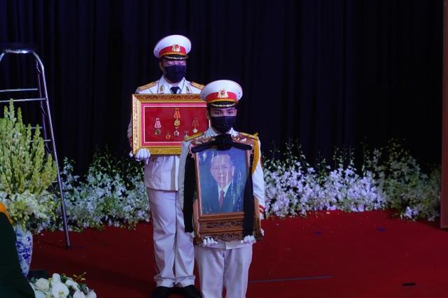 Lễ truy điệu và an táng nguyên Phó Thủ tướng Trương Vĩnh Trọng - 4