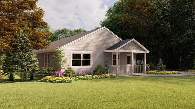 Đẹp ngỡ ngàng ngôi nhà in 3D, được xây dựng bằng robot - 1