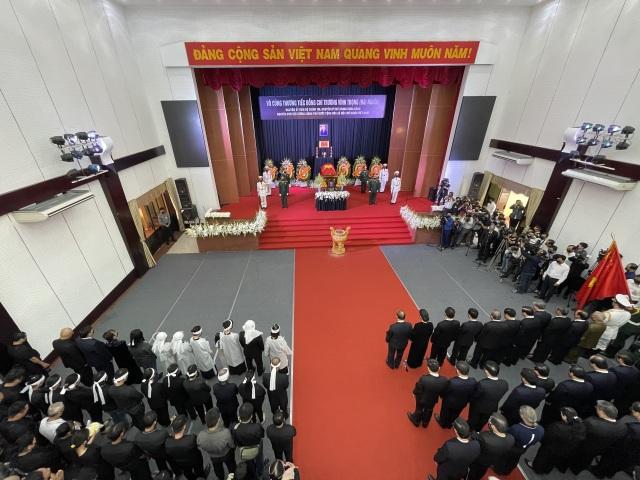Lễ truy điệu và an táng nguyên Phó Thủ tướng Trương Vĩnh Trọng - 2