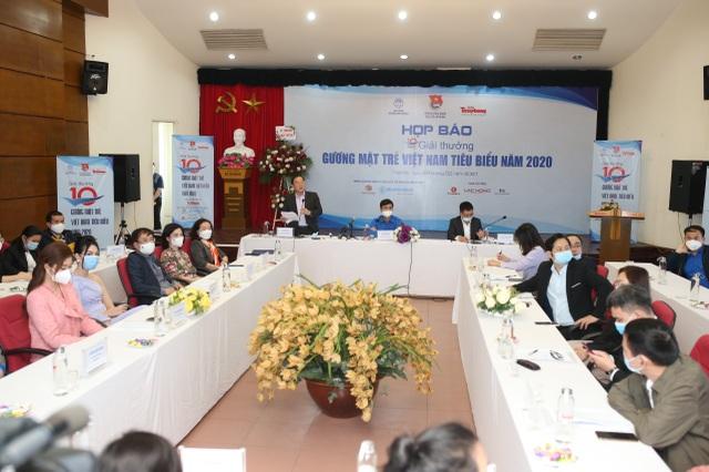 Mở bình chọn trực tuyến 20 đề cử Gương mặt trẻ Việt Nam tiêu biểu năm 2020 - 2