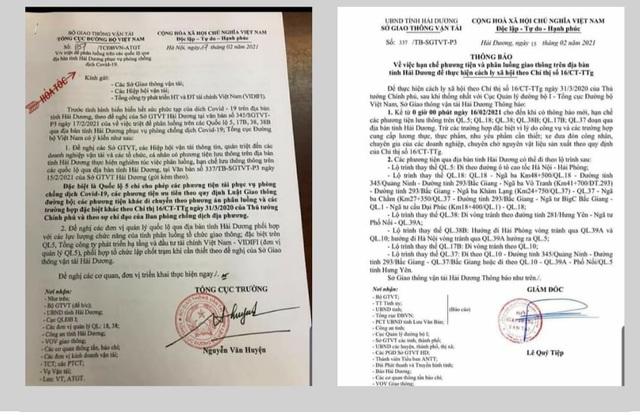 Hải Phòng lên tiếng về việc cấm cửa phương tiện, hàng hóa từ Hải Dương - 2