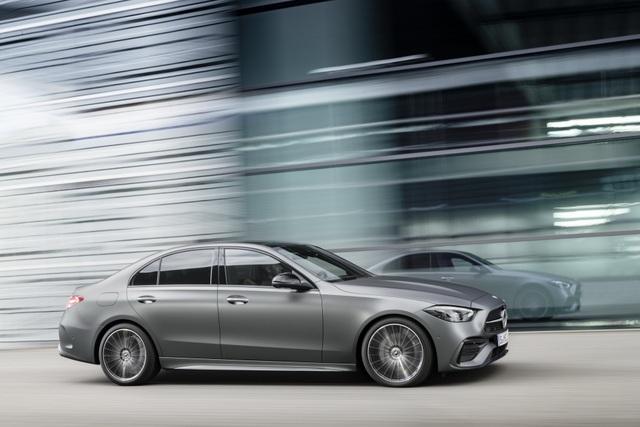 Mercedes-Benz C-Class 2022 chính thức ra mắt, vẫn là S-Class thu nhỏ - 9