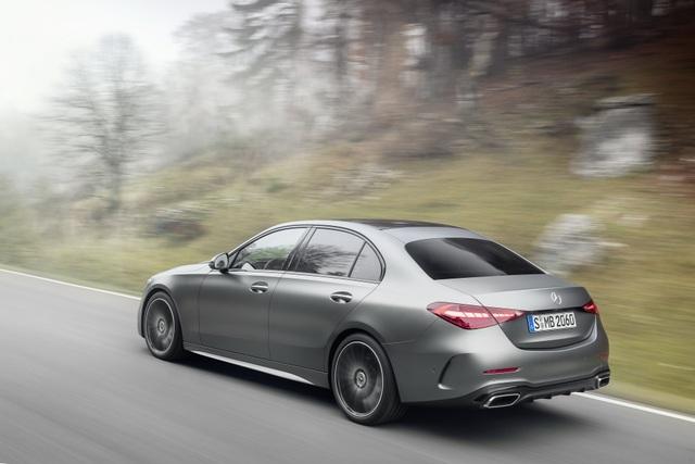 Mercedes-Benz C-Class 2022 chính thức ra mắt, vẫn là S-Class thu nhỏ - 12