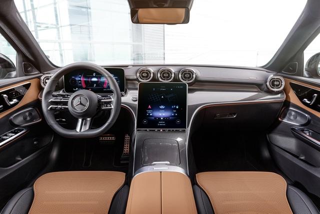 Mercedes-Benz C-Class 2022 chính thức ra mắt, vẫn là S-Class thu nhỏ - 5
