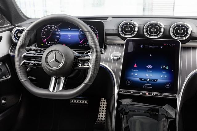 Mercedes-Benz C-Class 2022 chính thức ra mắt, vẫn là S-Class thu nhỏ - 34