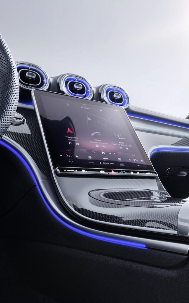 Mercedes-Benz C-Class 2022 chính thức ra mắt, vẫn là S-Class thu nhỏ - 6