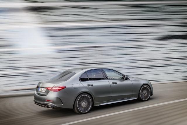 Mercedes-Benz C-Class 2022 chính thức ra mắt, vẫn là S-Class thu nhỏ - 4