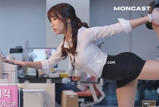 Cô giáo có hông quả táo đẹp nhất xứ Hàn gây bão mạng xã hội - 1