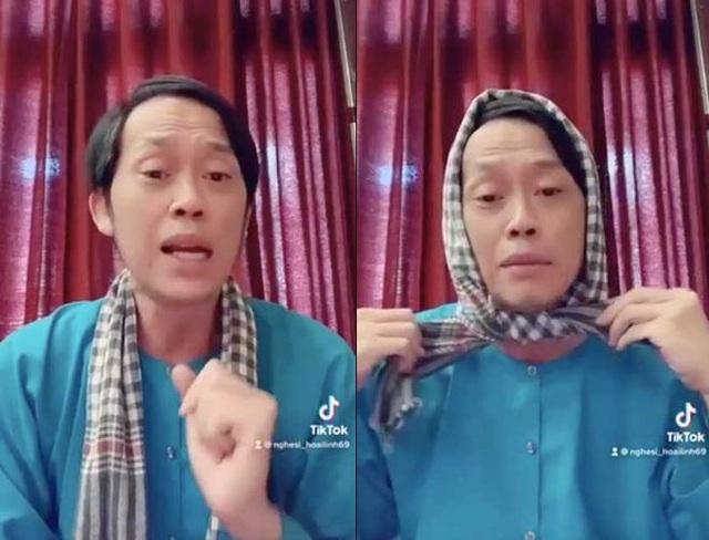 Bị chê bai ăn mặc tuềnh toàng quay clip, Hoài Linh diện vest đi nhổ cỏ - 4