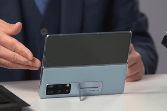 Cận cảnh Huawei Mate X2 vừa ra mắt: Gập 2 màn hình, đối thủ của Fold2 - 4