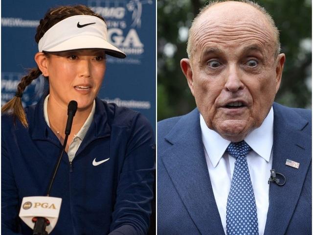 Tay golf nữ xinh đẹp bức xúc khi bị bình luận nhạy cảm - 1