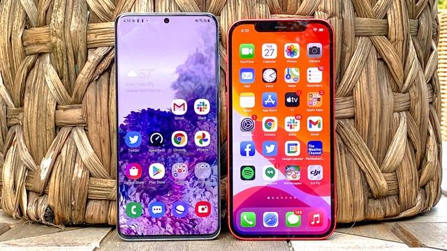 Apple vượt Samsung để giành ngôi vương trên thị trường smartphone - 1