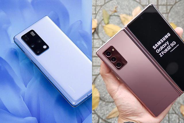 So sánh thiết kế của Huawei Mate X2 và Galaxy Z Fold2 - 1