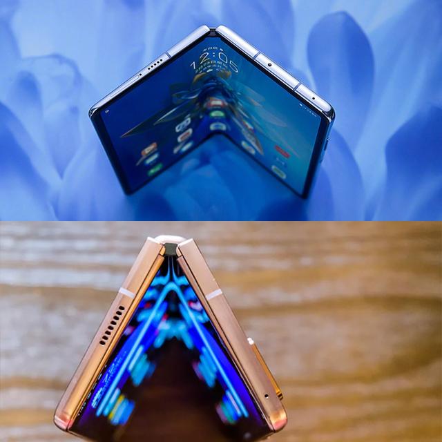 So sánh thiết kế của Huawei Mate X2 và Galaxy Z Fold2 - 2