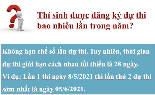 Thông tin mới nhất về Bài thi đánh giá năng lực vào Đại học Quốc gia Hà Nội - 10