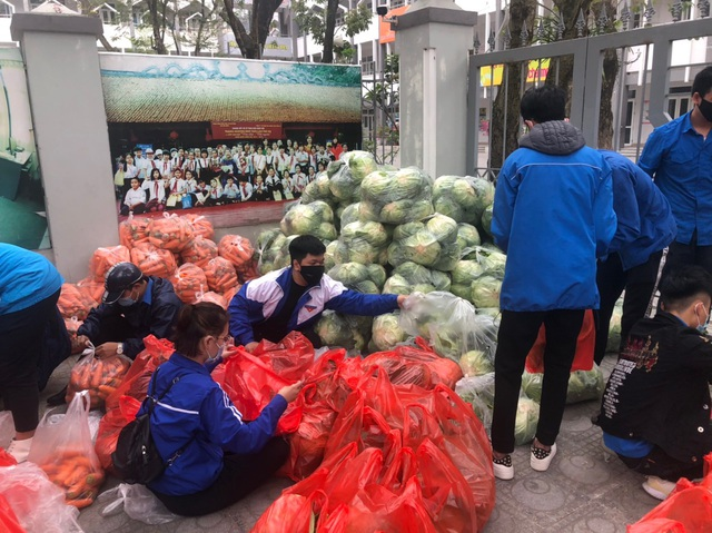 Thanh niên Thủ đô tất bật hỗ trợ tiêu thụ 122 tấn nông sản Hải Dương - 2