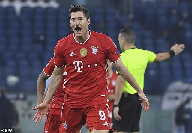 Lewandowski tỏa sáng, Bayern Munich thắng đậm Lazio - 2