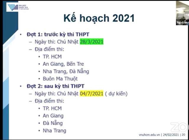 Điểm cần lưu ý trong bài thi đánh giá năng lực của ĐH Quốc gia TPHCM - 6