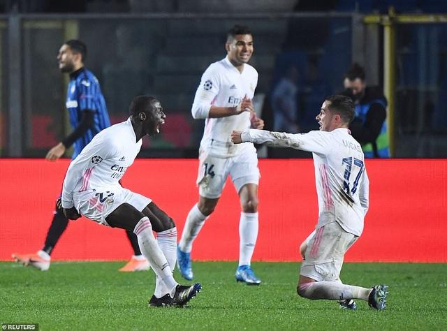 Đối thủ nhận thẻ đỏ sớm, Real Madrid nhọc nhằn đánh bại Atalanta - 6