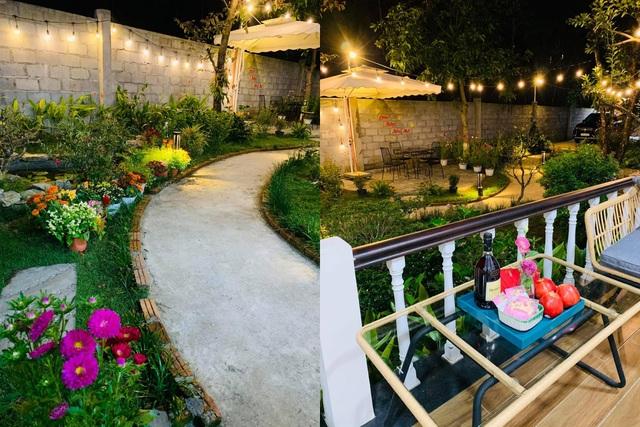 Vợ chồng trốn dịch về ngoại ô uống trà, ngắm hoa trong biệt thự đẹp mê - 3