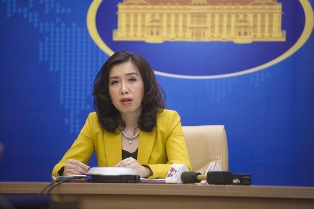 Bộ Ngoại giao nói về tàu hải cảnh Trung Quốc áp sát giàn khoan Việt Nam - 1