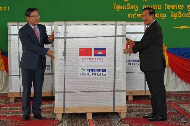 Trung Quốc phản hồi tin đồn Campuchia bán vắc xin được viện trợ - 1