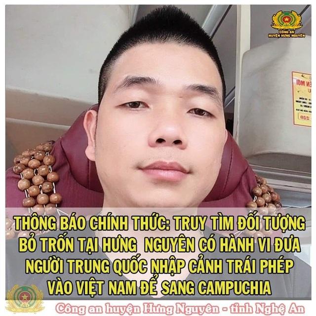 Truy tìm đối tượng đưa 7 người Trung Quốc nhập cảnh trái phép vào Việt Nam - 1