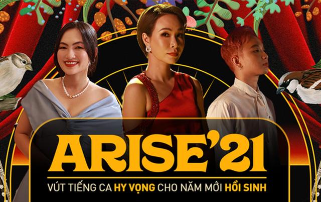 Dàn sao khủng nói gì về MV Arise21 - Ta sẽ hồi sinh? - 1