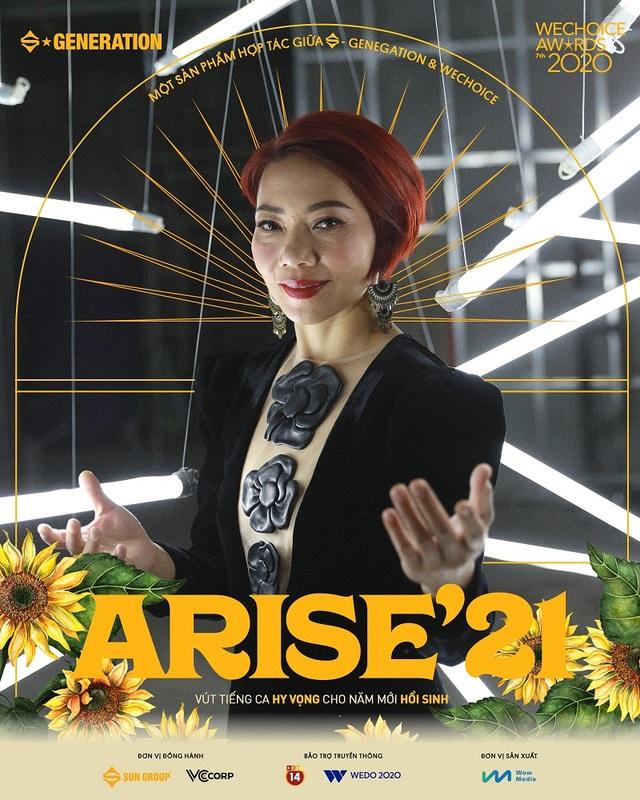 Dàn sao khủng nói gì về MV Arise21 - Ta sẽ hồi sinh? - 3