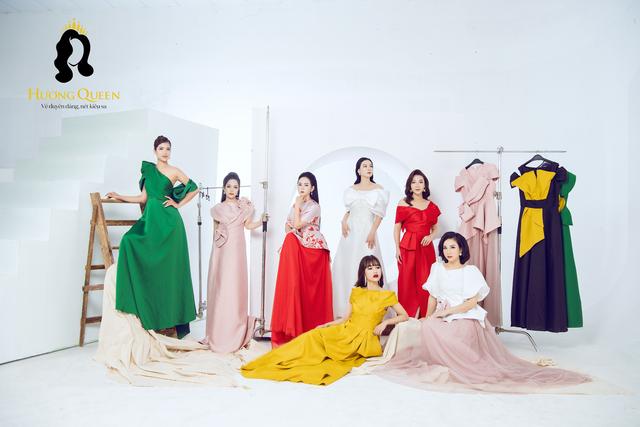 Mê mẩn sắc màu tình yêu trong BST mới ra mắt từ thương hiệu Hương Queen - 1