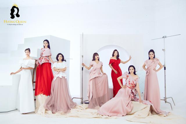 Mê mẩn sắc màu tình yêu trong BST mới ra mắt từ thương hiệu Hương Queen
