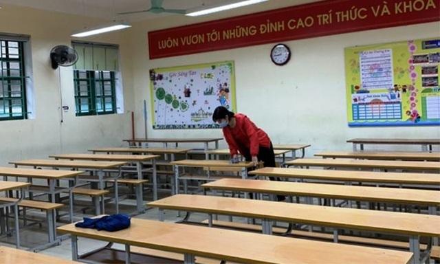 Toàn bộ học sinh Thái Bình đi học trở lại từ ngày 1/3 - 1