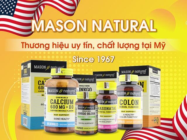Mason Natural - Thương hiệu hàng đầu tại Mỹ đã thành công ở thị trường Việt Nam như thế nào? - 1