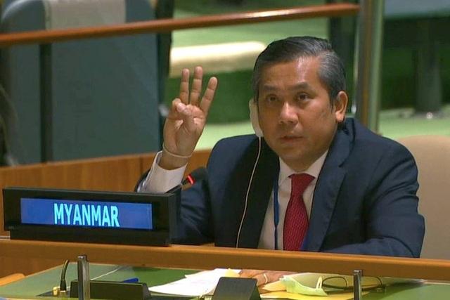 Đại sứ Myanmar tuyên bố chiến đấu tiếp dù mất chức vì cầu cứu LHQ - 1