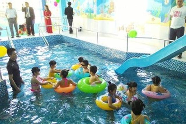 Tăng cường số lượng hồ bơi cho trẻ em để phòng đuối nước - 1