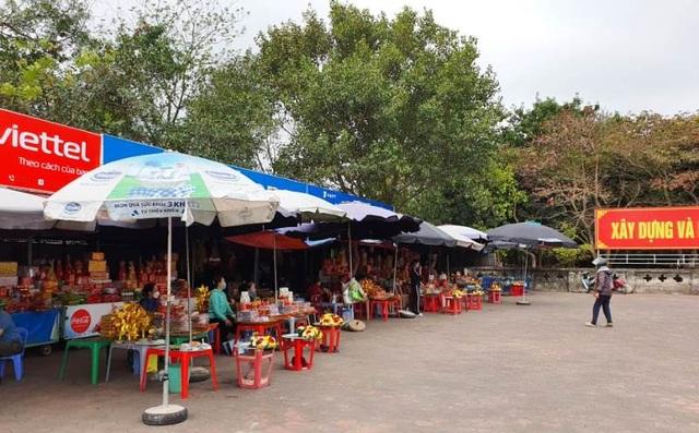 Nam Định: Người làm nghề bán hàng thời vụ ở đền Trần thất thu đầu năm - 5
