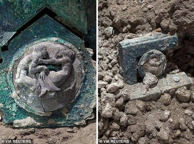 Chiến xa La Mã nguyên vẹn nhất vừa được tìm thấy - 4