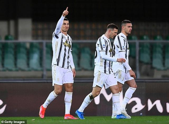 C.Ronaldo lập công, Juventus vẫn rơi điểm đáng tiếc - 1