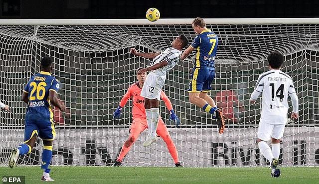 C.Ronaldo lập công, Juventus vẫn rơi điểm đáng tiếc - 2